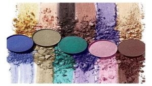 eyeshadow textures