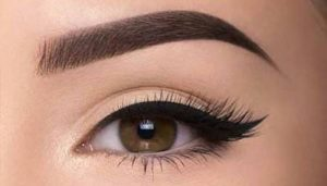 What is permanent eyebrow makeup